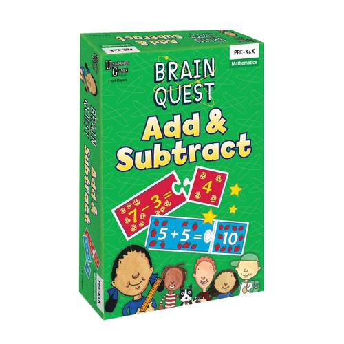 University Games Brain Quest - Add & Subtract