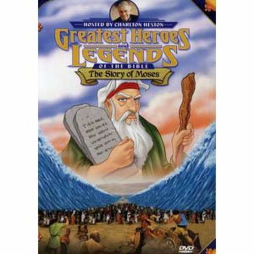 Greatest Heroes and Legends of the Bible: The Story of Moses DD2