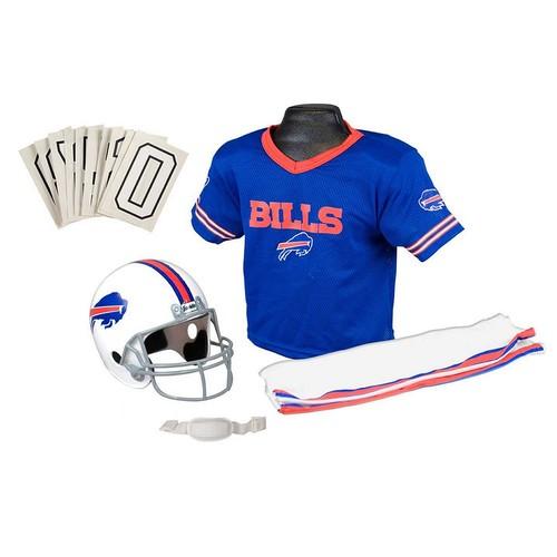 Franklin Sports NFL Deluxe Youth Uniform Set [Medium, Buffalo Bills]