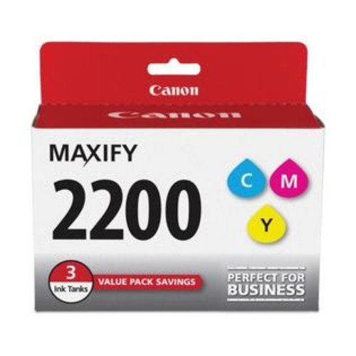 Canon PGI-2200 Ink - Cyan/Magenta/Yellow 9304B005 Ink
