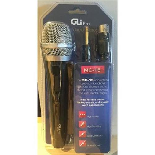GLI Pro MC-15 Dynamic Handheld Unidirectional Microphone MC-15