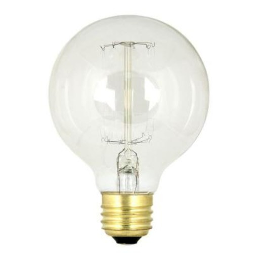Feit Electric 60-Watt Soft White G25 Incandescent Original Vintage Style Light Bulb (Case of 24)
