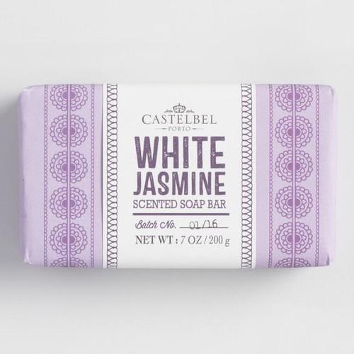 Castelbel Mehndi White Jasmine Bar Soap