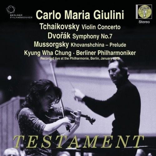 Tchaikovsky: Violin Concerto; Dvorak: Symphony No. 7