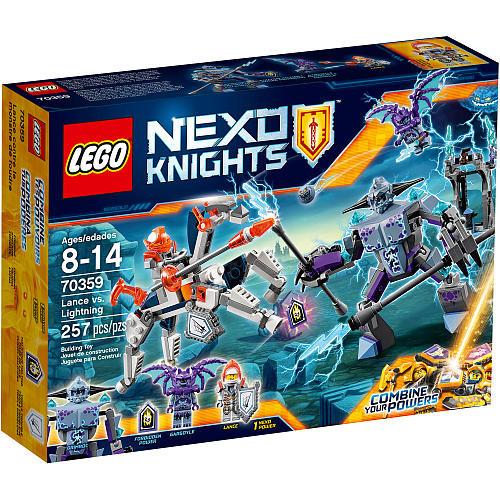 LEGO Nexo Knights Lance vs. lightning (70359)