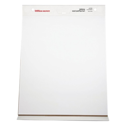Office Depot Brand 30% Recycled Table Top Flip Chart, 20