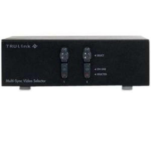 C2G TruLink 2-Port QXGA Monitor Switcher/Extender