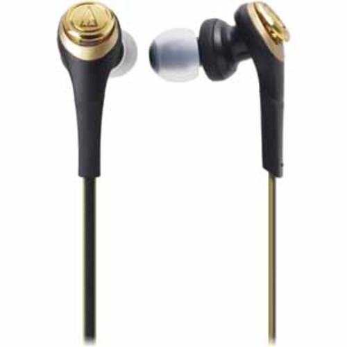 Audio-Technica Solid Bass Wireless In-Ear Headphones with Mic & Control - Black/G