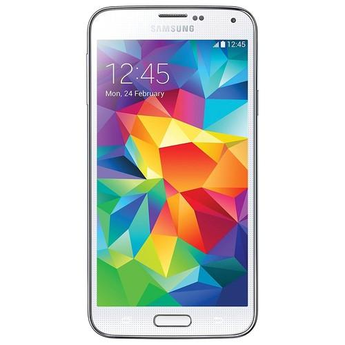 Samsung Galaxy S5 G900A Unlocked Cellphone, 16GB, White (International Version)