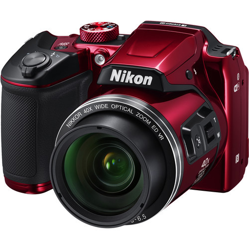 COOLPIX B500 Digital Camera (Red)