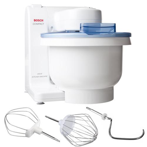 Bosch MUM4405UC Compact Tilt-Head Stand Mixer with Pouring Shield, 400 watt, 4 Quart