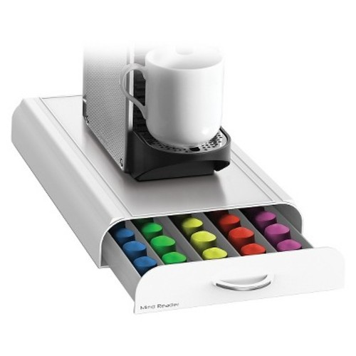 Mind Reader Anchor Nespresso Capsule Drawer - White