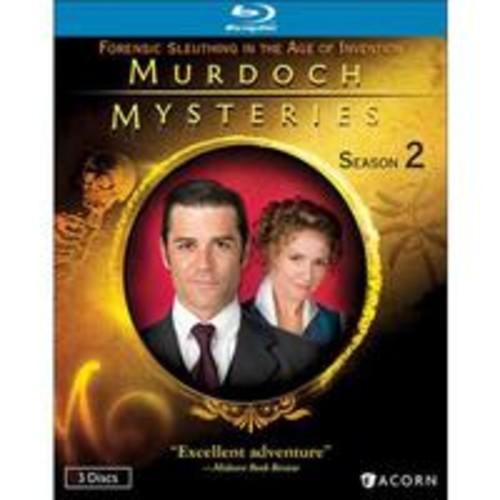Murdoch Mysteries: Season 2 (3 Discs) (Blu-ray)