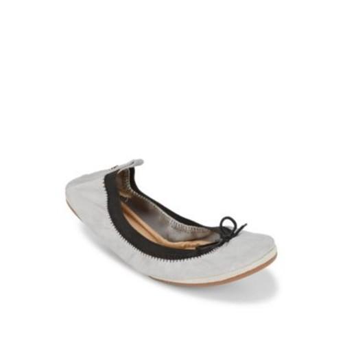 Yosi Samra - Dress Foldable Leather Flats