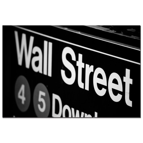 Trademark Global Yale Gurney 'Wall Street Next' Canvas Art [Overall Dimensions : 22x32]
