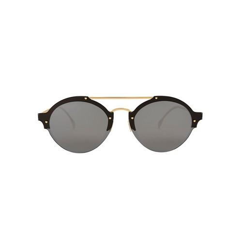 ILLESTEVA Malpensa Gold Stud Sunglasses