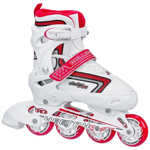 Roller Derby Cheetah S4 Girl's Adjustable Inline Skate