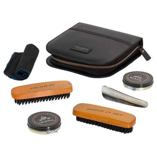 Ted Baker Men's Shoe Shine Kit in Black design by Wild & Wolf