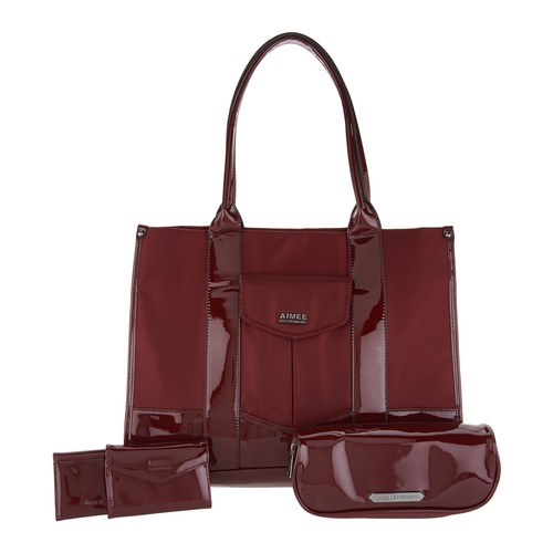Aimee Kestenberg Nylon Tote Bag w/ Accessories