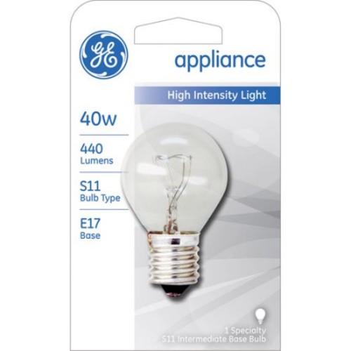 GE Lighting 35156 40-Watt High Intensity Light S11 1CD Light Bulb [40 Watts]