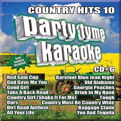 Party Tyme Karaoke: Country Hits, Vol. 10 [CD + G]