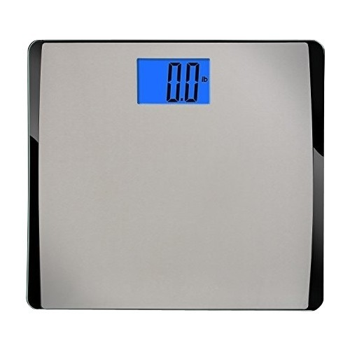 EatSmart - Precision 550 Extra Wide Scale - Stainless Steel