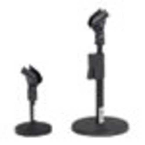 Quick-Release Adjustable Desk Mic Stand