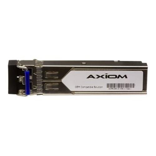 Axiom Memory SFP (mini-GBIC) transceiver module (equivalent to: Datacom SFP-LX-DS) - Gigabit Ethernet - 1000Base-LX - LC single-mode - up to 6.2 miles - 1310 nm (SFP-LX-DS-AX)