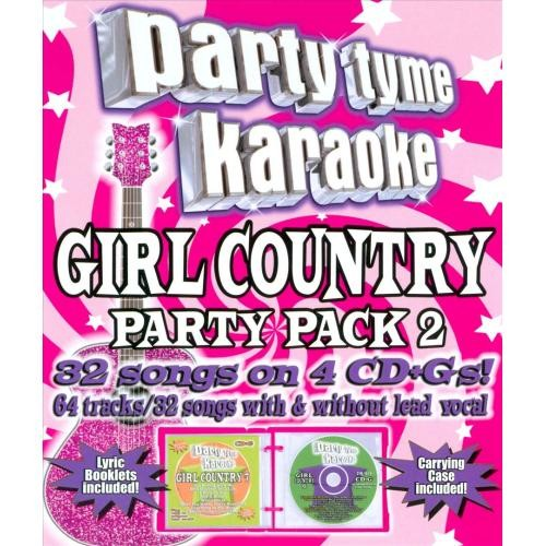 Party Tyme Karaoke: Girl Country Party Pack, Vol. 2 [CD + G]