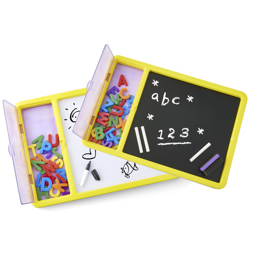 Imaginarium Magnetic Double Sided Board with Magnet Letters