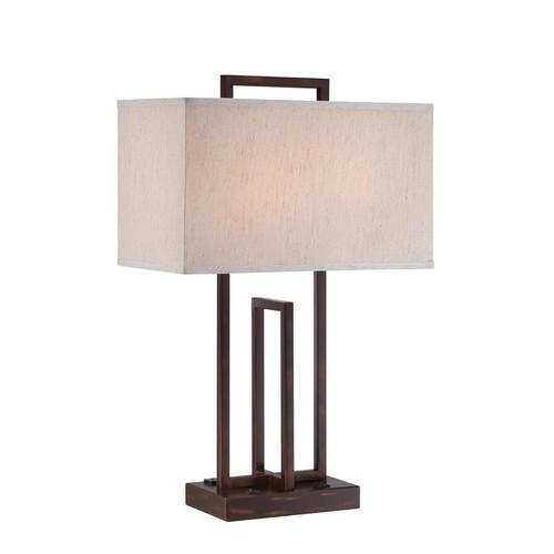 Filament Design 26.5 in. Dark Bronze Table Lamp