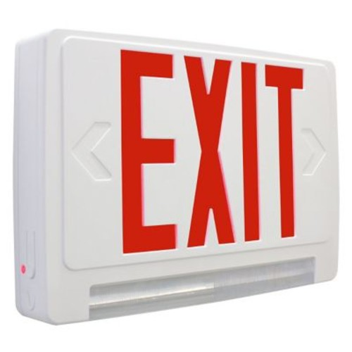 Barron Lighting Exitronix Exit/LED Emergency Combo Light