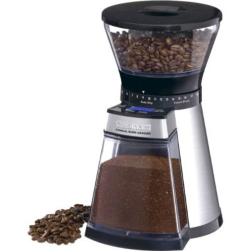 Cuisinart Programmable Conical Burr Mill, Black