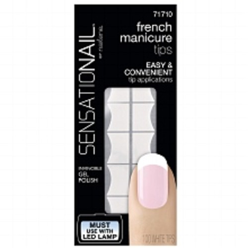 Sensationail French Manicure Tip Refill White