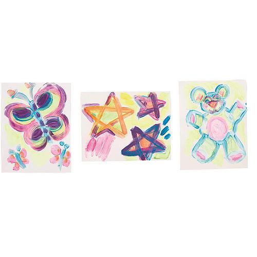 Imaginarium Creations 6 Pack Neon Tempera Paint