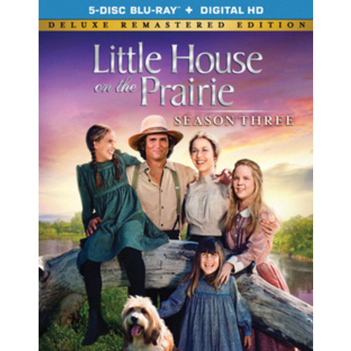 Little House On The Prairie: Season 3 Deluxe Remastered (Blu-ray + Digital HD) (Full Frame)