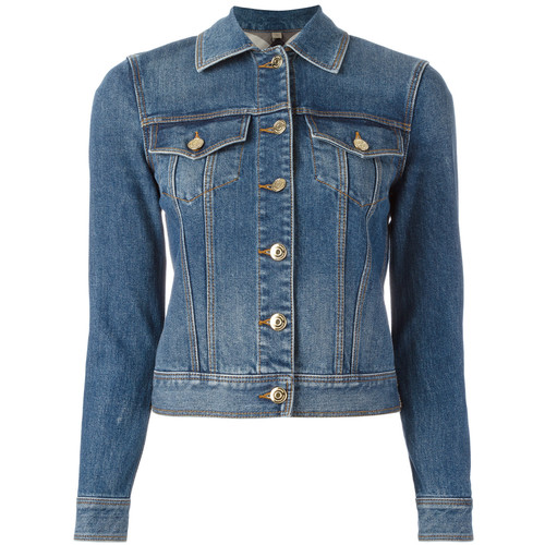 BURBERRY Stonewashed Denim Jacket