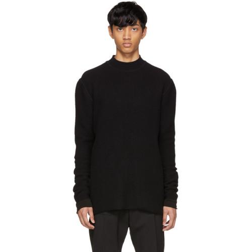 RICK OWENS Black Level Lupetto Sweater