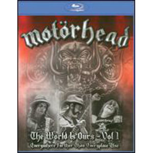 Motorhead: The World is Ours, Vol. 1 [Blu-ray] DD5.1/DD2