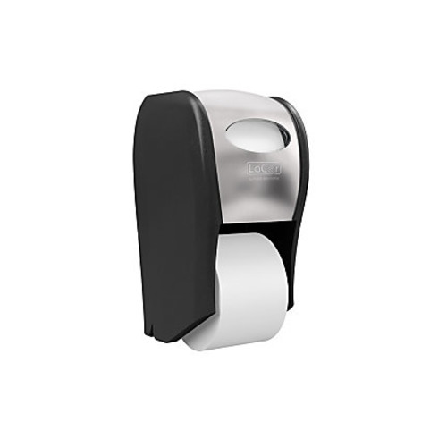 LoCor Top-Down Wall-Mount Bath Tissue Dispenser, Stainless