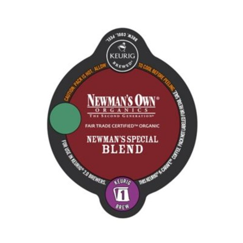Keurig K-Carafe Pack 8-Count Newman's Own Organics Special Blend Coffee