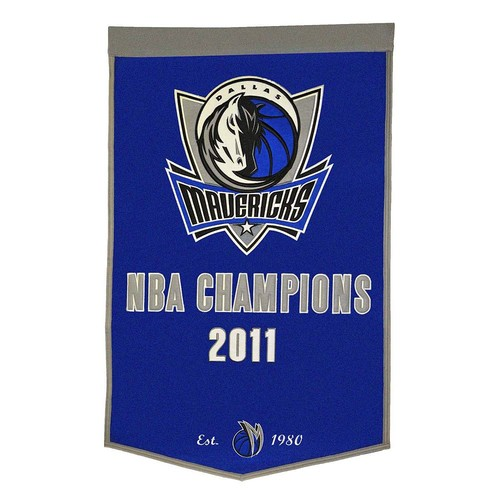 Dallas Mavericks Dynasty Banner
