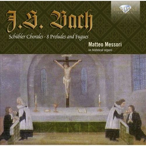 Bach:schubler Chorales/8 Preludes F CD (2013)