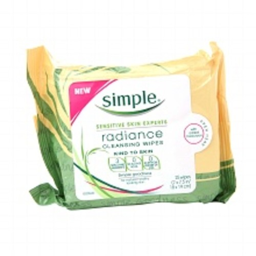 Simple Facial Wipes Radiance