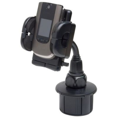 Bracketron Universal Cup-iT II Mount with Grip-iT for GPS - Black