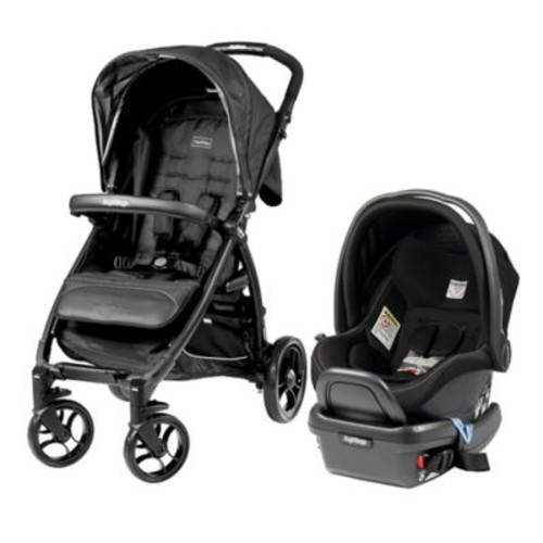 Peg Perego Onyx Booklet Travel System in Onyx
