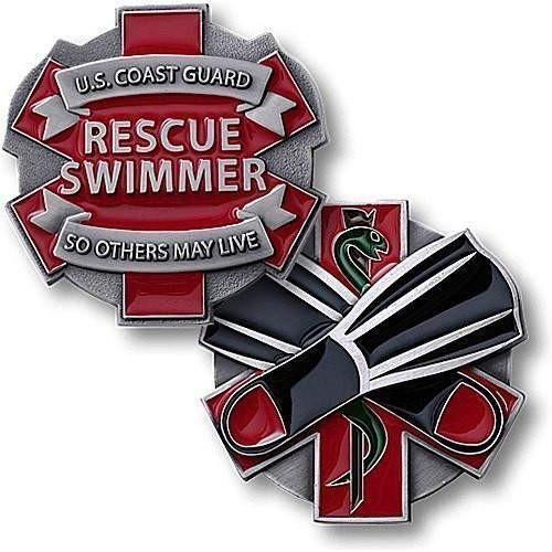 U.S. Coast Guard - Rescue Swimmer Coin [Title :]