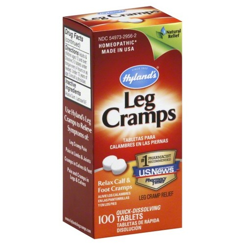 Hylands Leg Cramps, Quick-Dissolving Tablets, 100 tablets