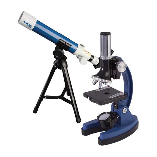 Explore One Apollo Refractor Telescope & Microscope Set