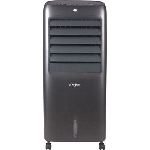 Whirlpool 214 CFM 3 Speed Portable Evaporative Air Cooler in Titanium for 425 sq. ft.